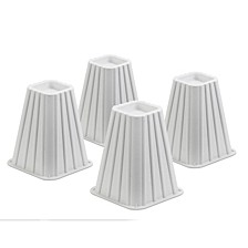 """8"""" Square Bed Risers, Set of 4"""