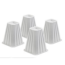 """Honey Can Do 8"""" Square Bed Risers, Set of 4"""
