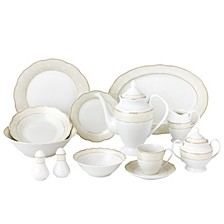 Tova 57-PC Dinnerware Set, Service for 8