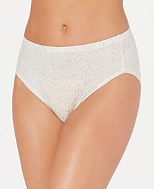 Women's Comfort Devotion Lace Detail High-Cut Brief Underwear CDHLBF