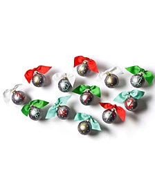 Coton Colors 12 Days Of Christmas - Set Of 12 Glass Ornaments