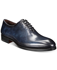 Massimo Emporio Men's Smooth Leather Oxfords, Created for Macy's