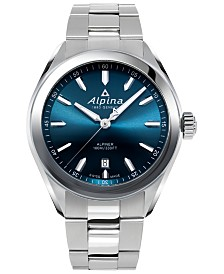 Alpina Men's Swiss Alpiner Stainless Steel Bracelet Watch 42mm
