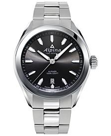 Men's Swiss Alpiner Stainless Steel Bracelet Watch 42mm