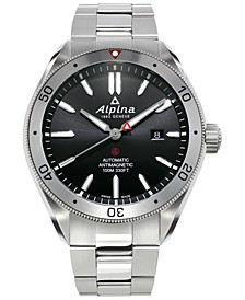 Men's Swiss Automatic Alpiner 4 Stainless Steel Bracelet Watch 44mm