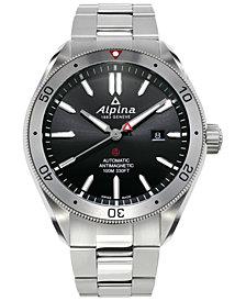 Alpina Men's Swiss Automatic Alpiner 4 Stainless Steel Bracelet Watch 44mm