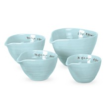Portmeirion Sophie Conran Celadon Measuring Cups Set of 4