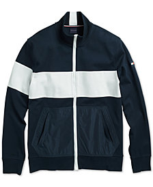 Tommy Hilfiger Adaptive Men's Mariner Fleece Jacket with Magnetic Zipper