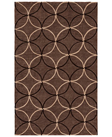 Surya Cosmopolitan COS-8868 Dark Brown 8' x 11' Area Rug