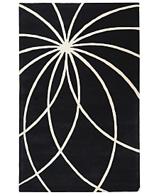 "Surya Forum FM-7072 Black 7'6"" x 9'6"" Area Rug"