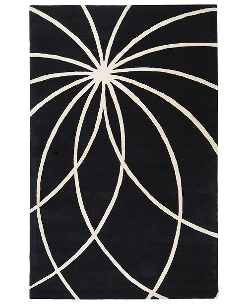 Surya Forum FM-7072 Black 10' x 14' Area Rug