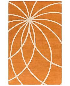 Surya Forum FM-7175 Burnt Orange 2' x 3' Area Rug