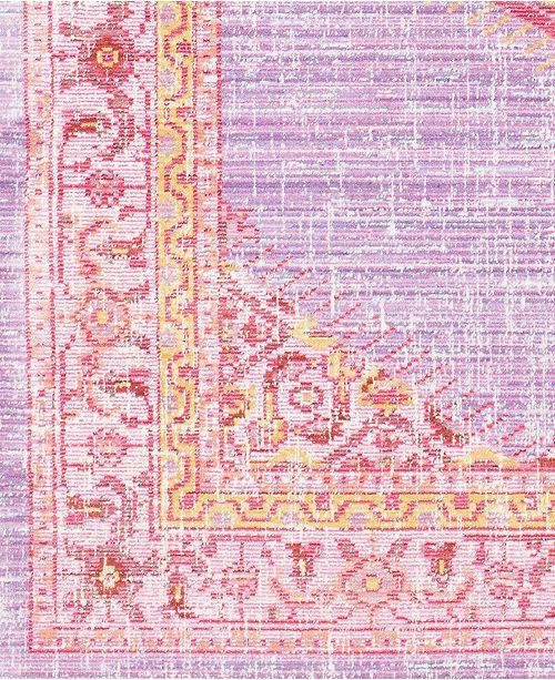 "Surya Germili GER-2309 Bright Purple 18"" Square Swatch"