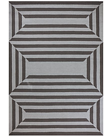 "Libby Langdon Hamptons Emerson 6'6"" x 9'6"" Indoor/Outdoor Area Rug"