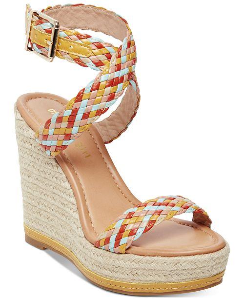 01e0b3780fe Narla Woven Platform Wedge Sandals