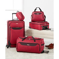 Tag Springfield III 5-Piece Luggage Set (Red Or Blue)