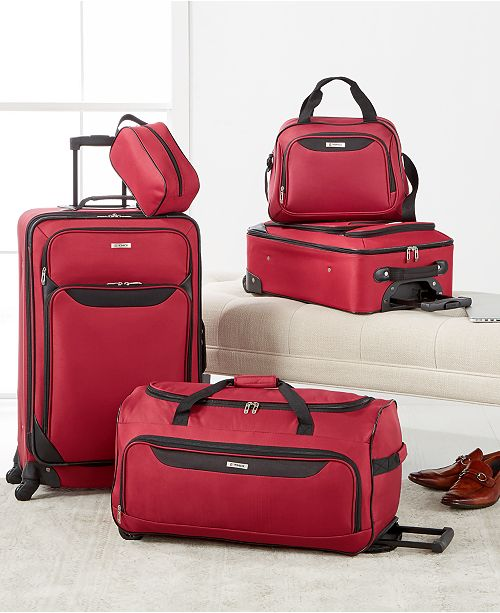 ... Tag Springfield III 5 Piece Luggage Set ec71cebffe593
