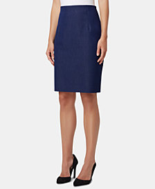 Tahari ASL High-Waisted Pencil Skirt