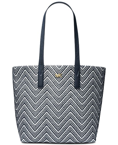 474c879c8d19 Michael Kors Junie Chevron Leather Tote. Macy's / Handbags & Accessories