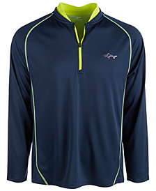 Greg Norman Mens Quarter-Zip Sweatshirt