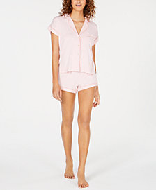 UGG® Amelia Mini-Striped Knit Pajama Set