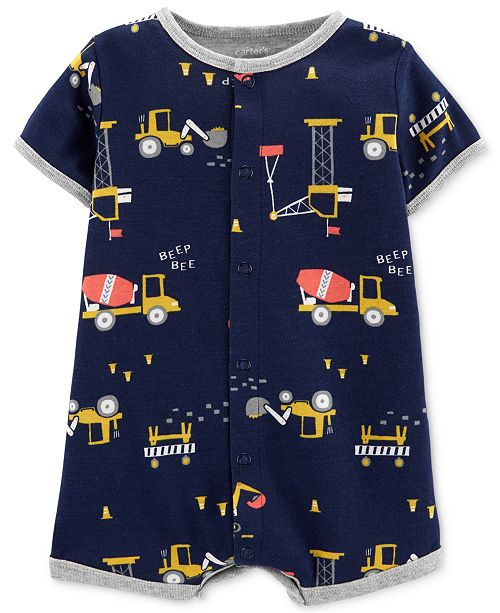 Carter's Baby Boys Cotton Romper