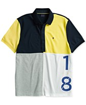 b2a72beda8df Tommy Hilfiger Adaptive Men s Lucca Custom Fit Polo with Magnetic Closure