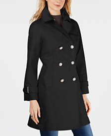 Vince Camuto Double-Breasted Trench Coat