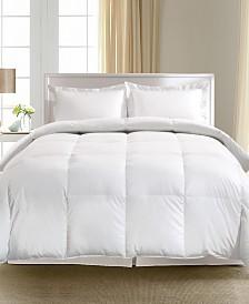 Blue Ridge 1000 Thread Count Pima Cotton European White Goose Down Comforter Collection