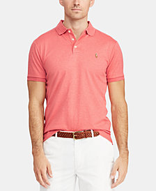Polo Ralph Lauren Men's Classic Fit Soft Touch Cotton Polo