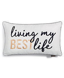 "Lacourte Best Life 14"" x 24"" Decorative Pillow"