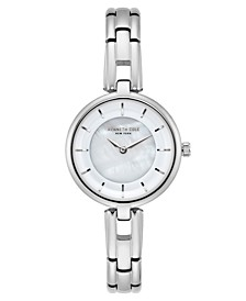 Ladies MOP Silver Bracelet Watch 32mm