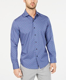 Tasso Elba Men's Fulano Medallion Shirt, Created for Macy's