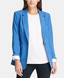 DKNY One-Button Blazer, Created for Macy's