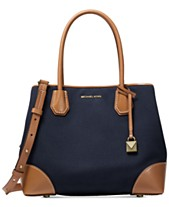 993d95b381 MICHAEL Michael Kors Mercer Gallery Canvas Center Zip Tote
