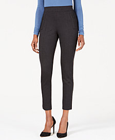 Anne Klein Zipper Compression Pants