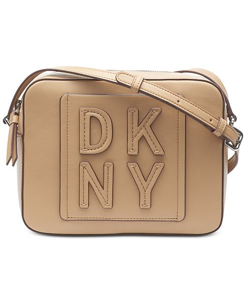 DKNY Tilly Stacked Logo Camera Bag, Created for Macy's