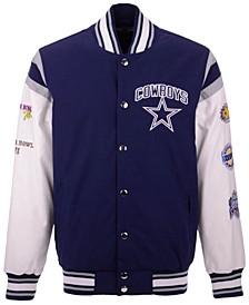 Men's Dallas Cowboys Home Team Varsity Jacket