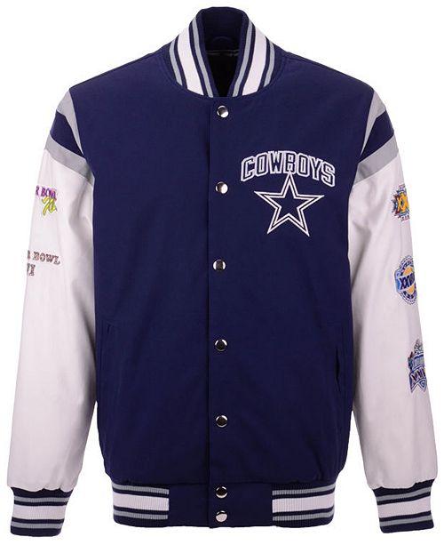 finest selection 55f3d 497f1 Authentic NFL Apparel Men's Dallas Cowboys Home Team Varsity ...