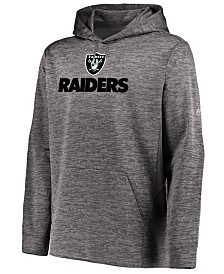 Majestic Men's Oakland Raiders Ultra Streak Fleece Hood