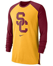 Nike Men's USC Trojans Breathe Shooter Long Sleeve T-Shirt