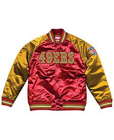 Mitchell & Ness Men's San Francisco 49ers Tough Season Satin Jacket