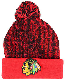 Authentic NHL Headwear Women's Chicago Blackhawks Iconic Ace Knit Hat
