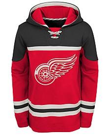 Outerstuff Detroit Red Wings Asset Hoodie, Big Boys (8-20)