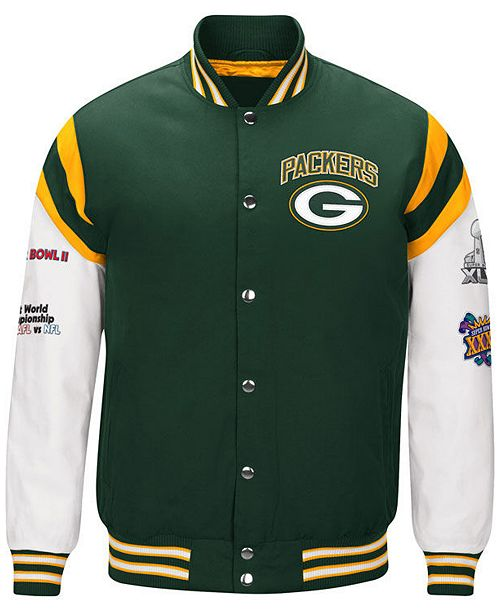 Nice Authentic NFL Apparel Men's Green Bay Packers Home Team Varsity  for cheap