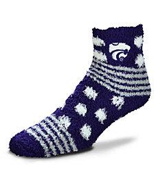 For Bare Feet Kansas State Wildcats Homegater Sleep Soft Socks