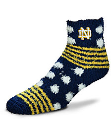For Bare Feet Notre Dame Fighting Irish Homegater Sleep Soft Socks