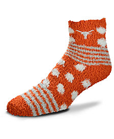 For Bare Feet Texas Longhorns Homegater Sleep Soft Socks