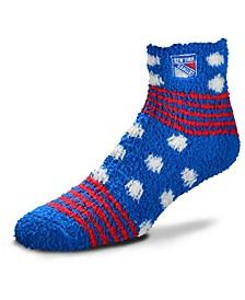 New York Rangers Homegater Sleep Soft Socks