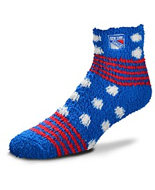 For Bare Feet New York Rangers Homegater Sleep Soft Socks